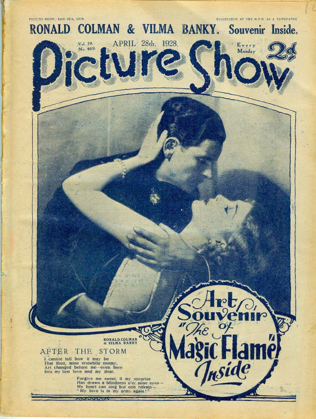 Picture Show Magazine Magic Flame